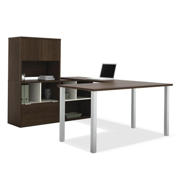 Bestar Contempo U-Shaped Desk / Storage Unit