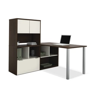 Bestar Contempo L-Shaped Desk / Storage Unit