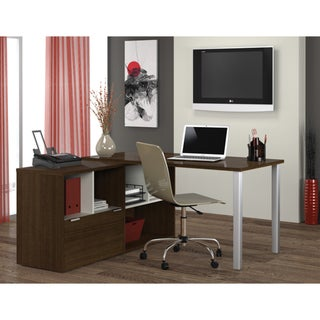 Bestar Contempo L-Shaped Desk