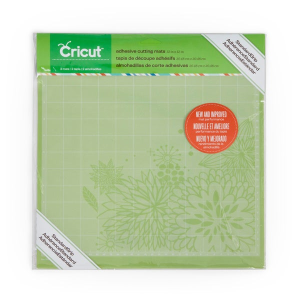 Cricut Adhesive 12x12 Cutting Mats Set Of 2 15445257