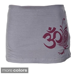 Zen 'Om' Skirted Yoga Pants (Nepal)