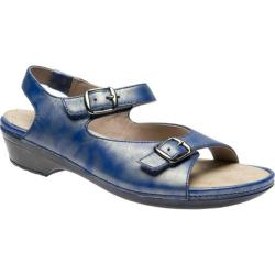 Women's Drew Daphne Blue Metallic Leather