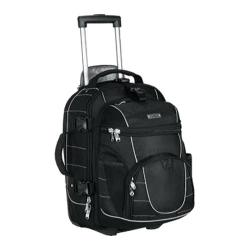 High Sierra Carry-On Wheeled Backpack with Removable Daypack Black