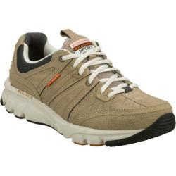 Men's Skechers Relaxed Fit Biped Big Ticket Brown/Orange