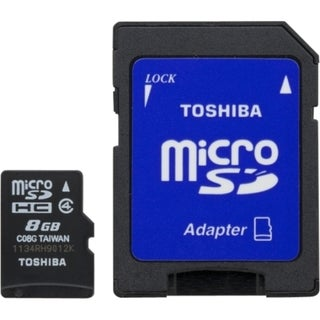 Toshiba 8 GB microSD High Capacity (microSDHC)