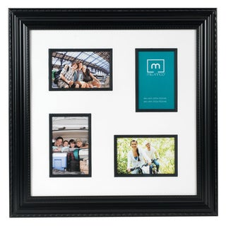 Mellannco Black 4-image Framed Collage