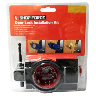 Shop Force Door Lock Installation Kit