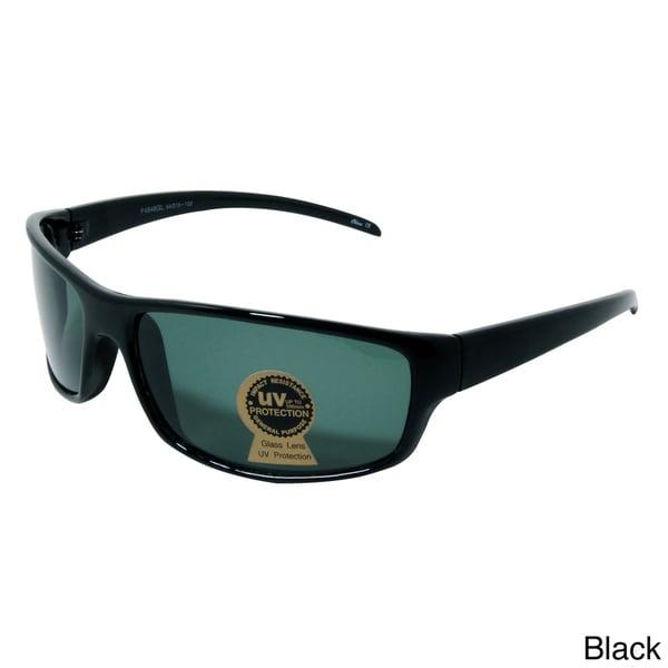 Men's 'Steer' Plastic Shield Sunglasses