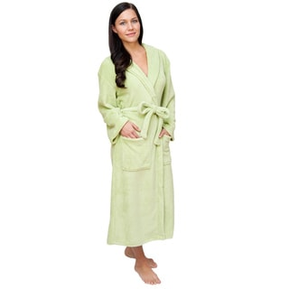 Plush Signature Women's Green Marshmallow Robe
