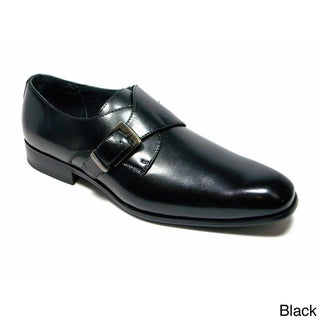 Delli Aldo Men's Classic Round Toe with Buckle Loafers