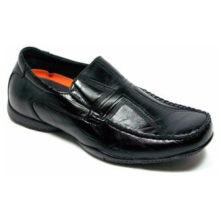 Men's Casual Stitched Cross Driving Shoes