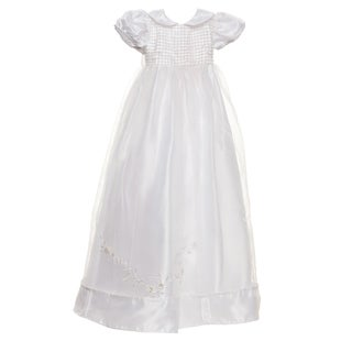Sweetie Pie Collection Infant Girls White Christening Gown