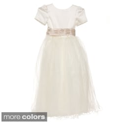 Sweetie Pie Girls Special-Occasion Ivory Dress