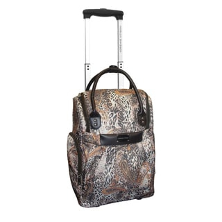 Adrienne Vittadini 18-inch Rolling Carry-on Weekender