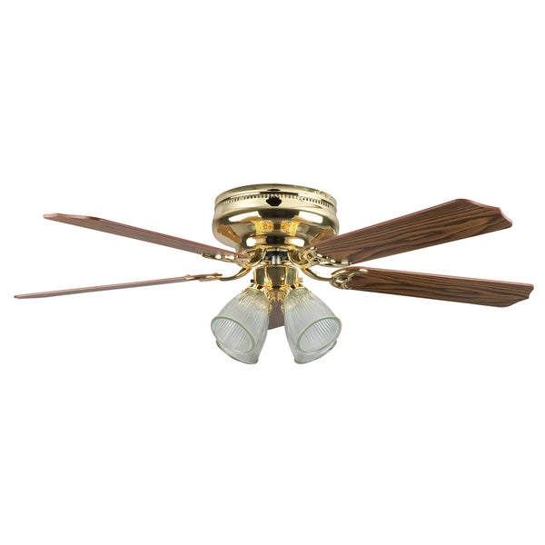 52 Inch Four Light Five Blade Ceiling Fan / Four Light Kit