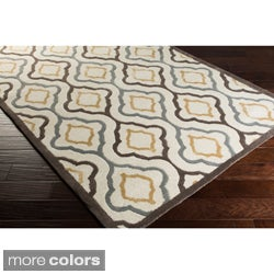 Hand-tufted Candice Olson Modern Geometric Wool Rug (8' x 11')
