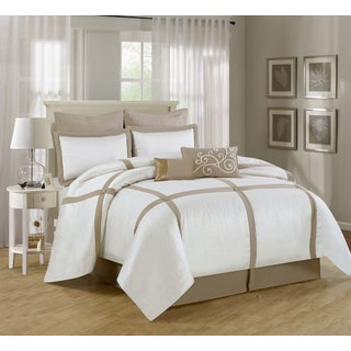 Symphony Tufted 8-piece Comforter Set