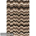 Hand-Tufted Candice Olson Modern Geometric Rectangular Wool Rug (8' x 11')