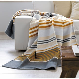 Solare Cotton Pure Mix Stripes Oversize Throw