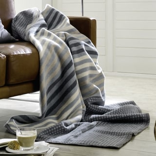 Messina Vintage Stripe Oversize Throw