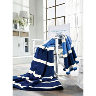 Sorrento Coast Stripe Oversize Throw