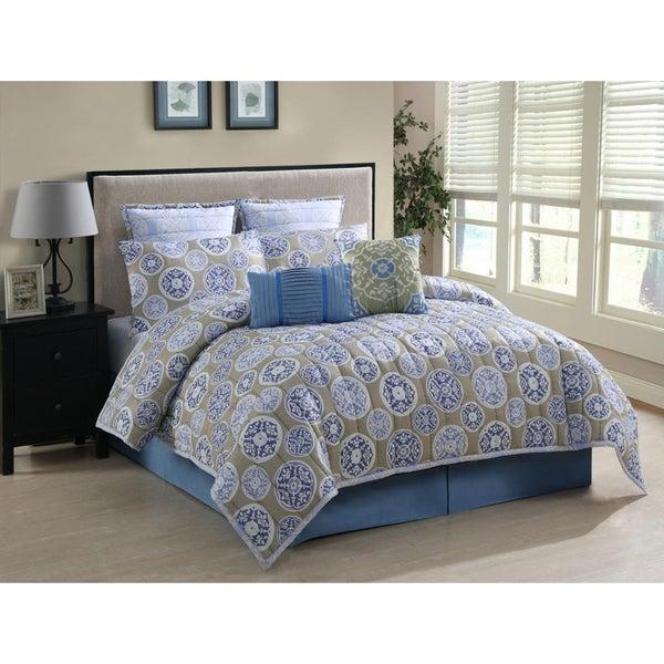 Annabelle Twill 8-piece Comforter Set