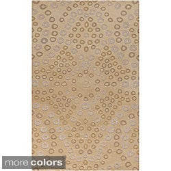 Hand-Tufted Malene B Destinations Geometric New Zealand Wool Rug (8' x 11')