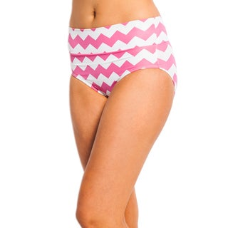 Kingdom & State Women's Classic Swim Chevron Bottoms