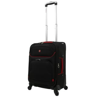 Wenger Swiss Gear Expandable Lightweight 28-inch Spinner Upright Luggage