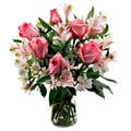 Sweets in Bloom Pink and Flirty Rose Bouquet