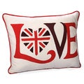 Jovi Home Retro 'Love' Throw Pillow