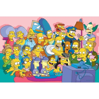 The Simpsons Wall Art