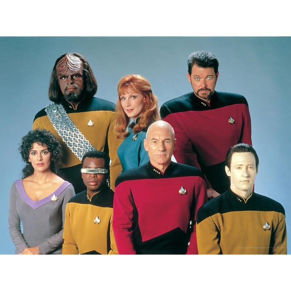 Star Trek: The Next Generation Canvas Wall Art