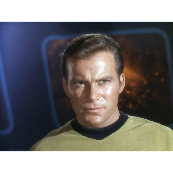 Star Trek Captain Kirk Wall Art Set