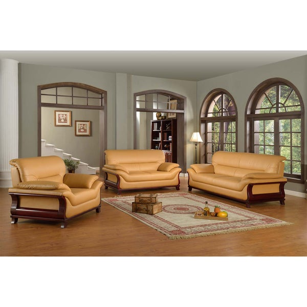 Kalina Bonded Leather Modern Set 15447205 Shopping Big Discounts On Living