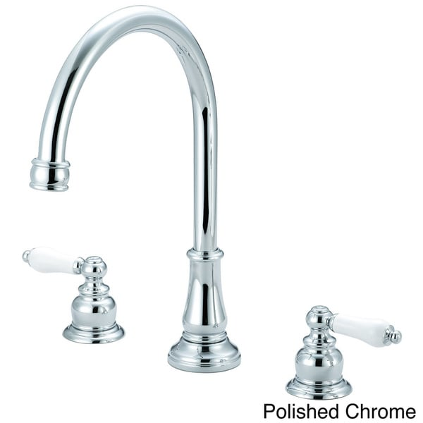 Pioneer Brentwood Series Classic Two-Handle Kitchen Widespread Faucet 11284544