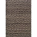 Old World Tribal Ivory/ Grey Polypropylene Rug (6'7 x 9'1)