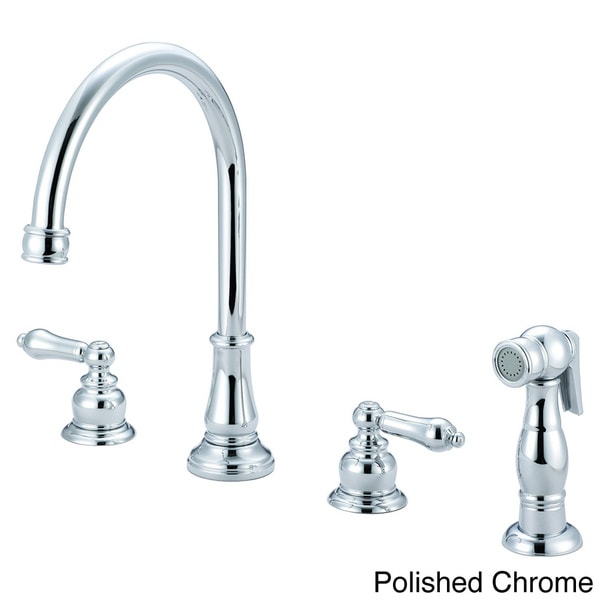 Pioneer Brentwood Series Traditional Two-Handle Kitchen Widespread Faucet 11284571