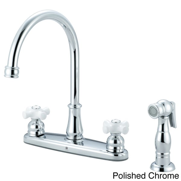 Pioneer Brentwood Series Cross Handle Kitchen Faucet