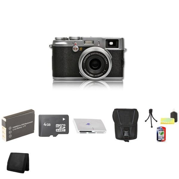 Fujifilm FinePix X100 12.3MP Digital Camera with 4GB Bundle