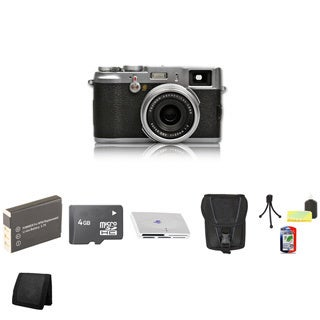 Fujifilm FinePix X100 12.3MP Digital Camera with 4GB Bundle