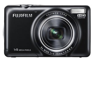 Fujifilm FinePix JX370 14MP Black Digital Camera