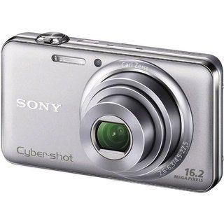 Sony Cyber-shot DSC-WX70 16.2MP Silver Digital Camera