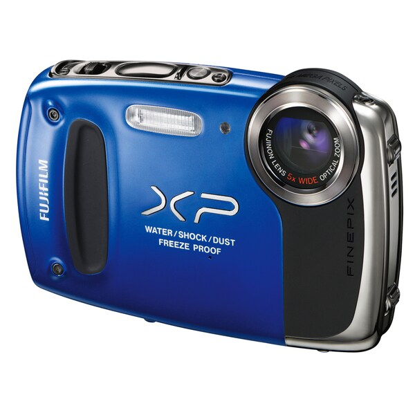 Fujifilm FinePix XP51 Waterproof 14MP Blue Digital Camera