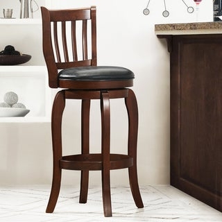Ali Modern 29-inch Swivel Bar Height Stool