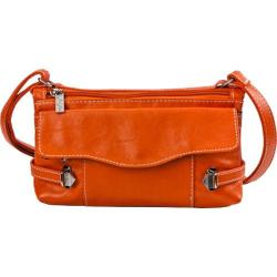 Women's Sydney Love Head Over Heels Shoulder Bag /Cross Body Orange