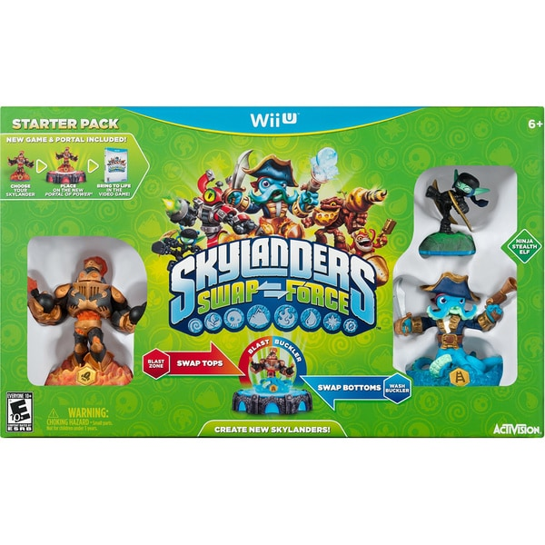 Wii U - Skylanders: Swap Force Starter Pack 11286419