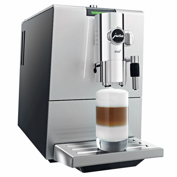 Jura-Capresso Silver/ Black ENA 9 One Touch Automatic Coffee and Espresso Center (Refurbished) 11288463
