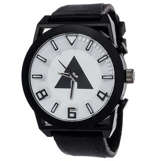 AIRWALK Men's White/ Black Analog Watch