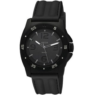 Breda Men's 'Kevin' Silicone Band Watch